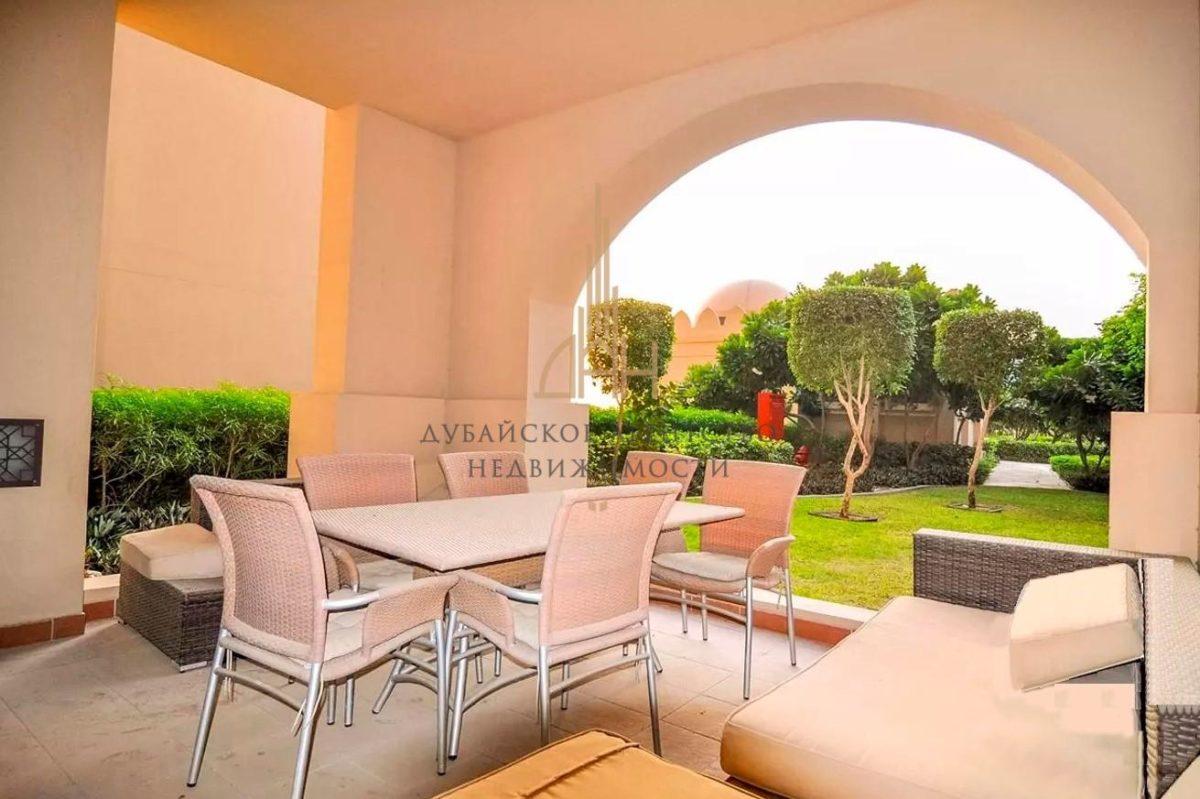 Апартаменты с 2 спальнями с мебелью в Fairmont Palm Residences (Дубай)