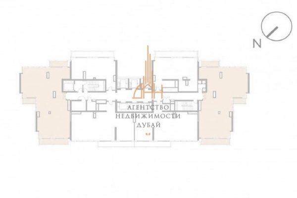 Апартаменты с 4 спальнями с рассрочкой в VIDA Residence Dubai Marina
