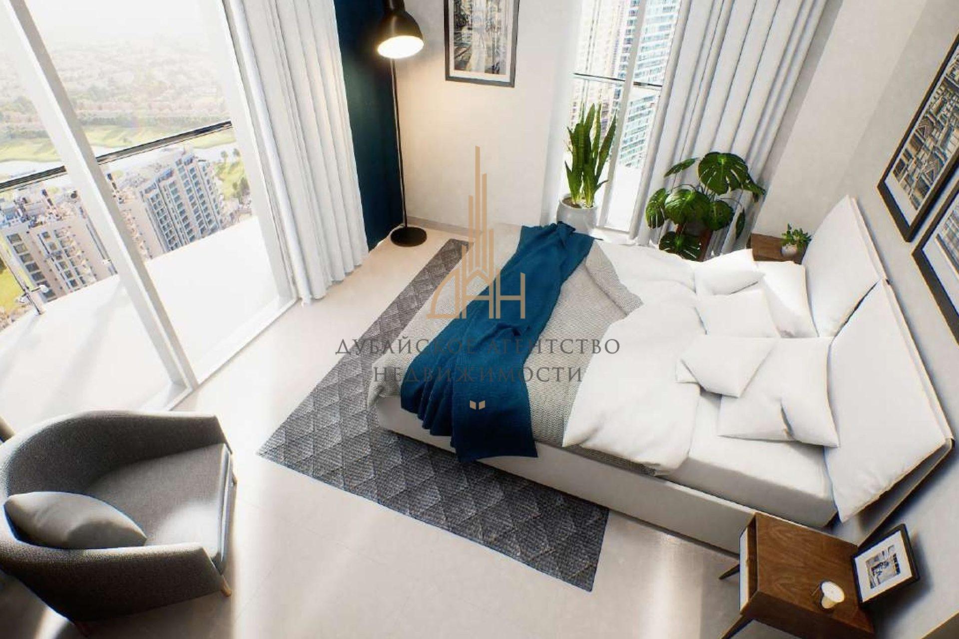 Меблированные апартаменты с 2 спальнями и мебелью в Golf Views Seven City