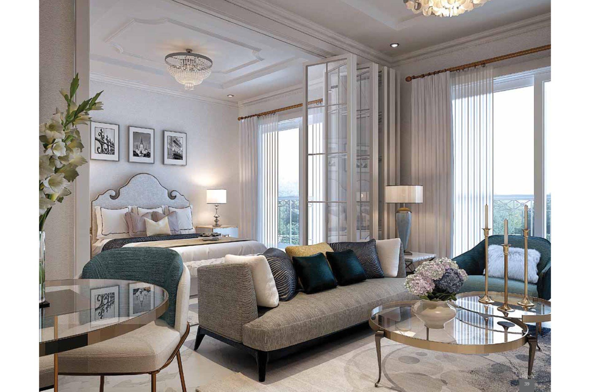 Апартаменты с 3 спальнями в Арджан с гарантированным доходом 8% в год