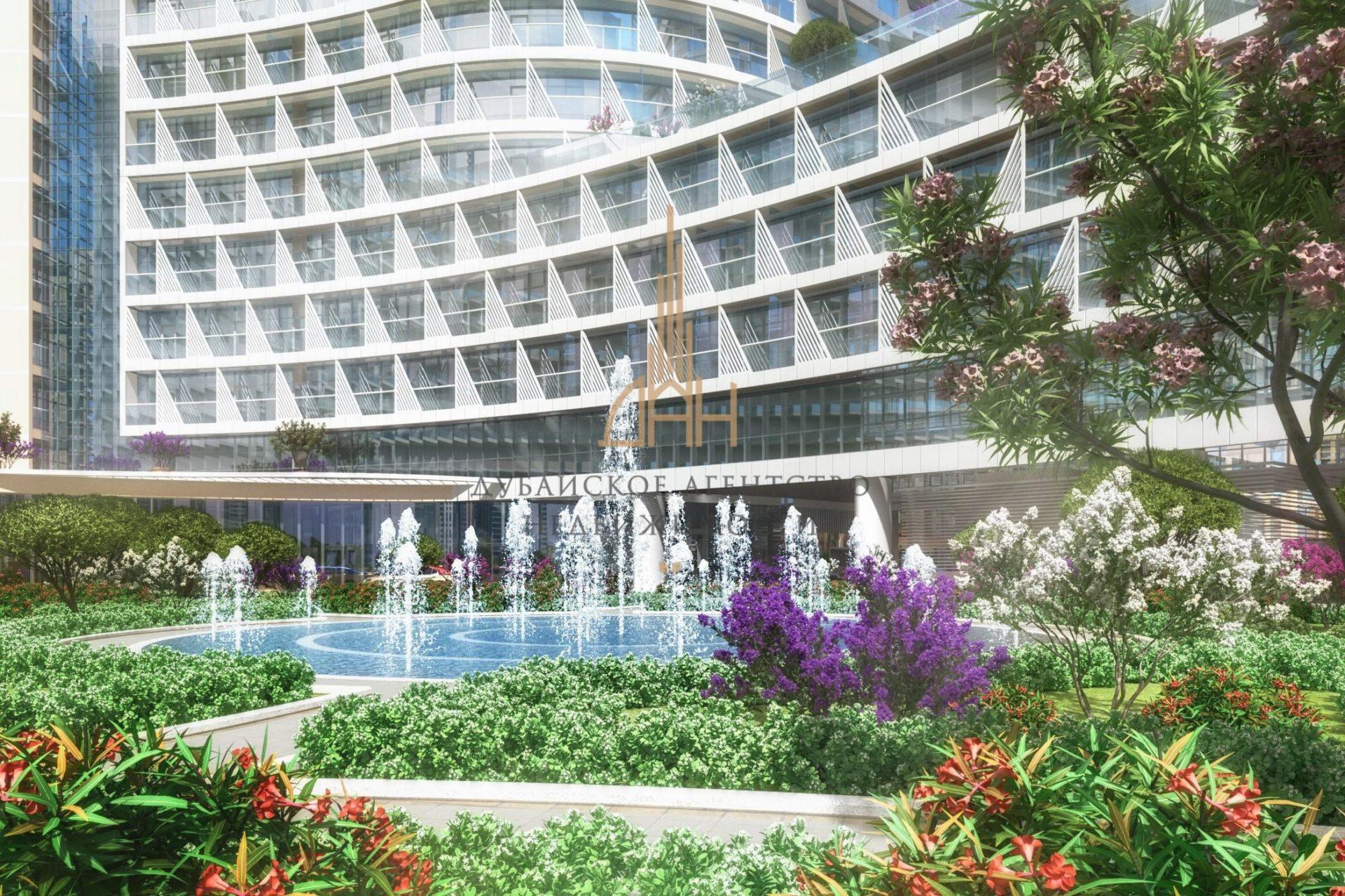 Студия с видом на залив в Seven Palm (Дубай)