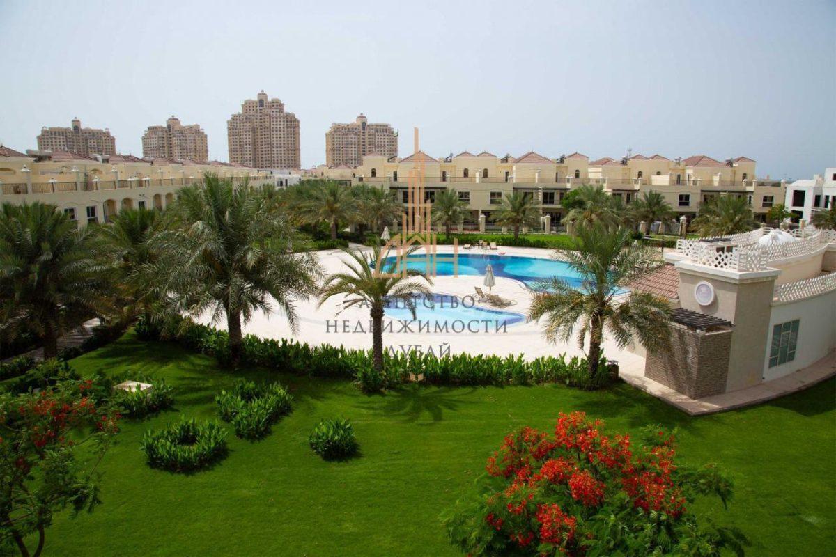 Готовые апартаменты с 1 спальней в Royal Breeze с 5-летней рассрочкой 1 BR с видом на лагуну
