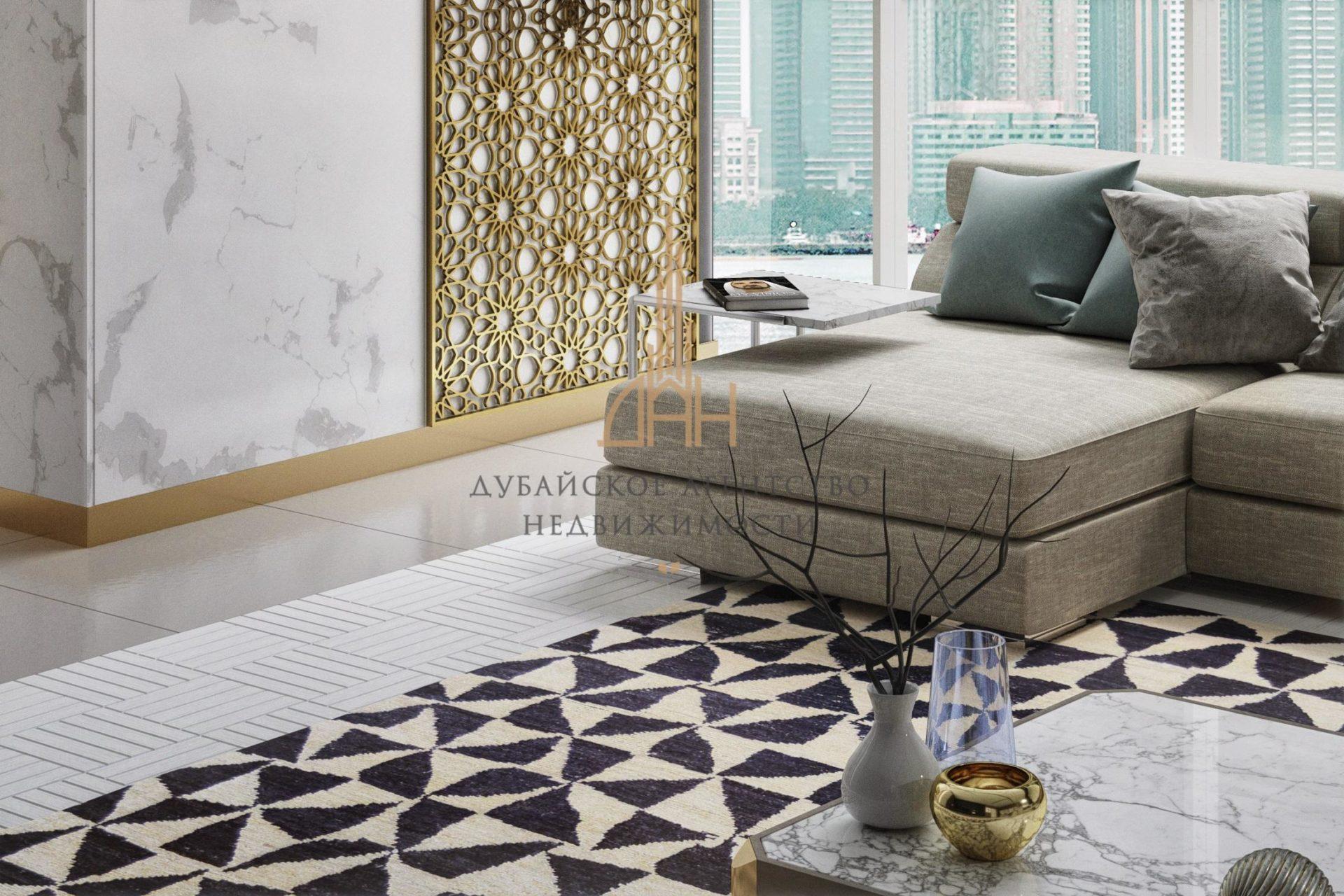 Пентхаус с мебелью | вид на море | в Seven Palm (Дубай)