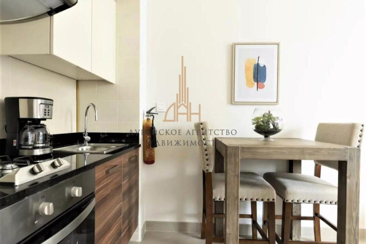 Квартира-студия в Sparkle Towers с видом на JBR (Dubai Marina)
