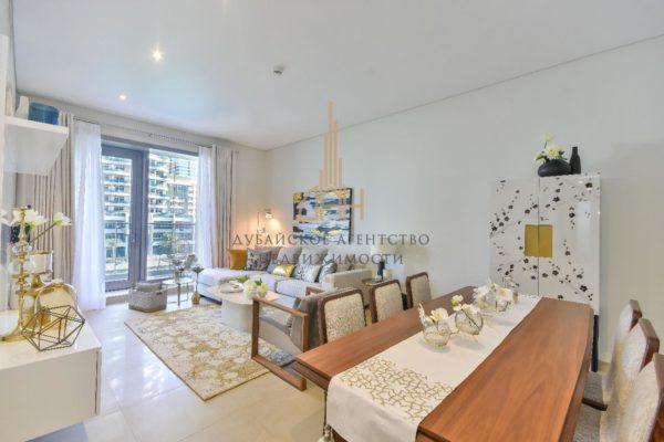 (Русский) Пентхаус с 4 спальнями и с видом на Marina в Sparkle Towers (Dubai Marina)