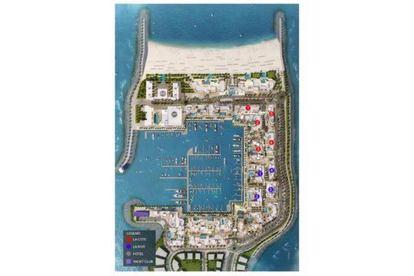 Апартаменты La Rive с 1 спальнями на берегу моря в Port de La Mer | Jumeirah