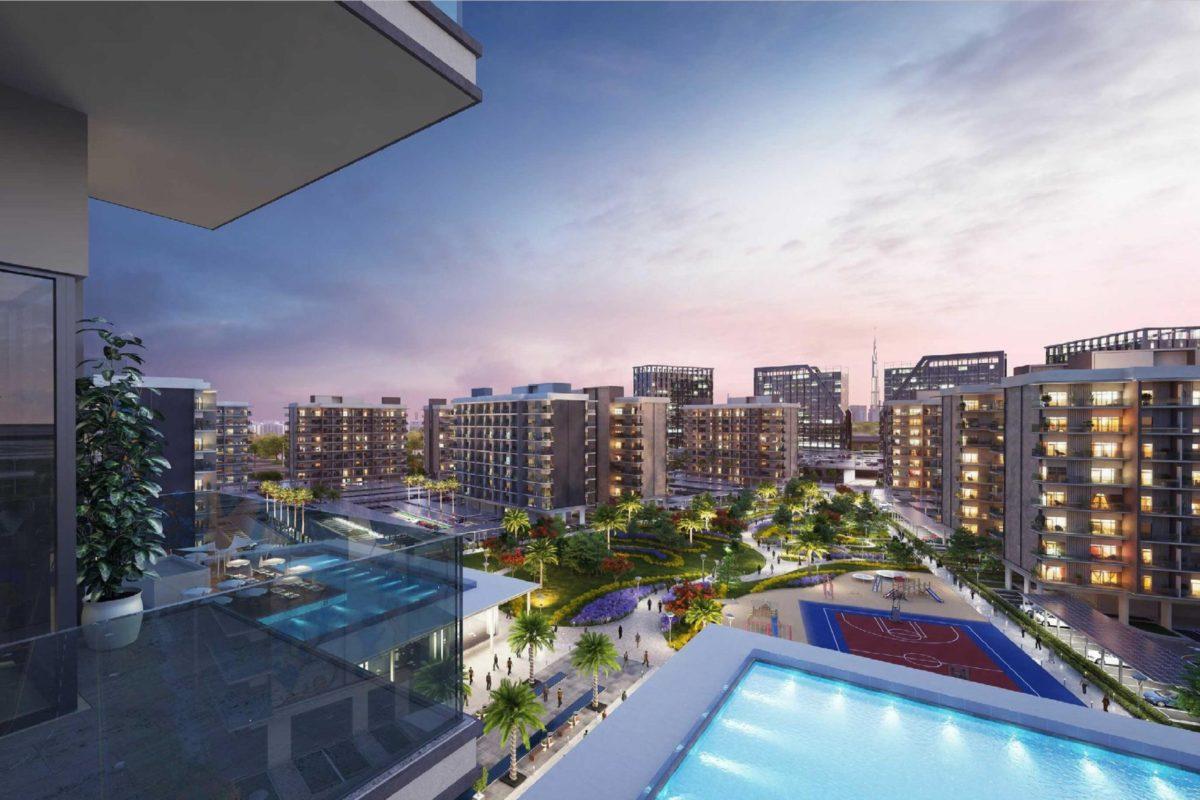 Апартаменты с 1 спальней и гостиной в MAG City с рассрочкой (Dubai)