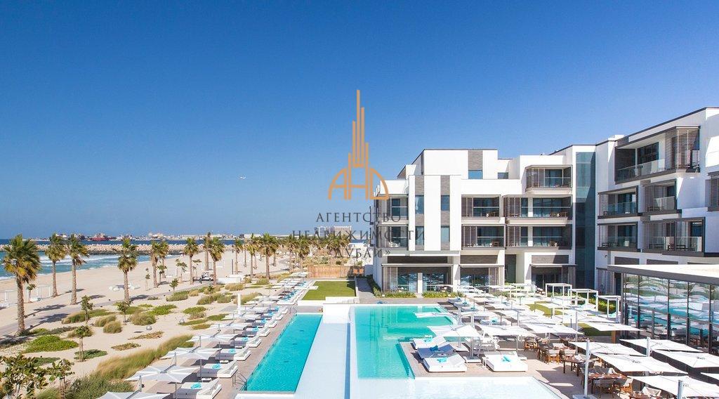 (Русский) Апартаменты с 1 спальней и гостиной Nikki Beach Residences с собственным пляжем