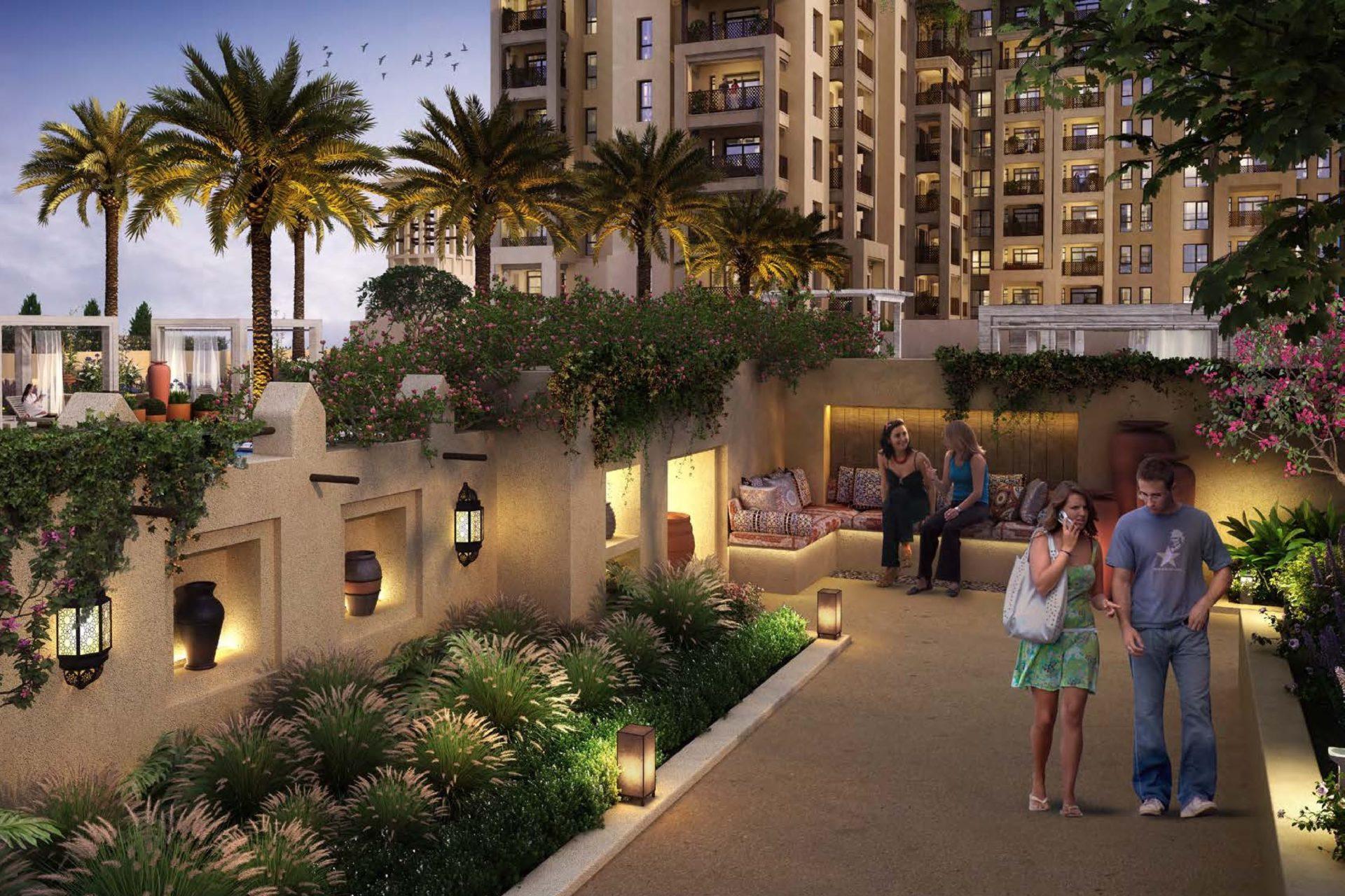 Апартаменты с 1 спальней на Madinat Jumeirah Living (Дубай)