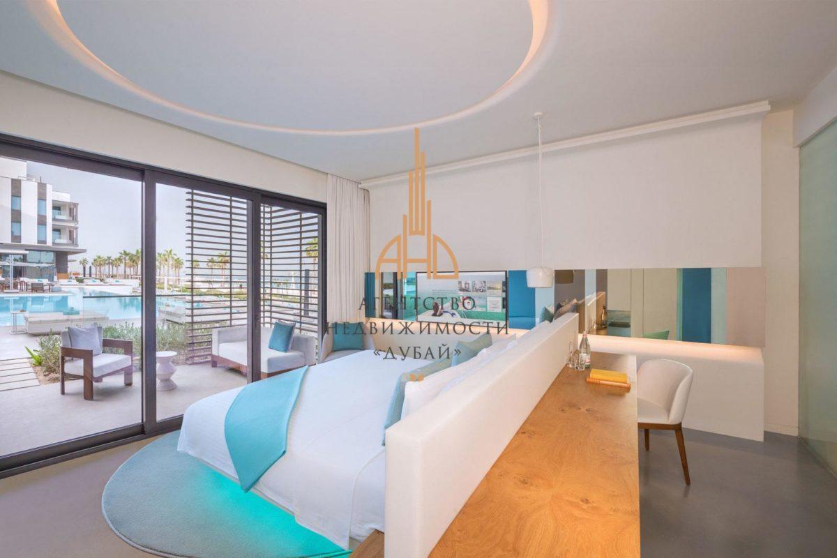 Апартаменты с 1 спальней и гостиной Nikki Beach Residences с собственным пляжем