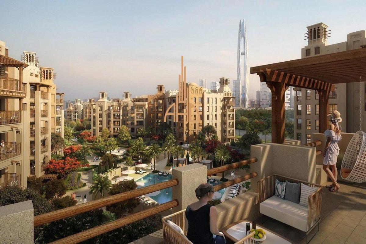 Апартаменты с 2 спальнями на Madinat Jumeirah Living (Дубай)