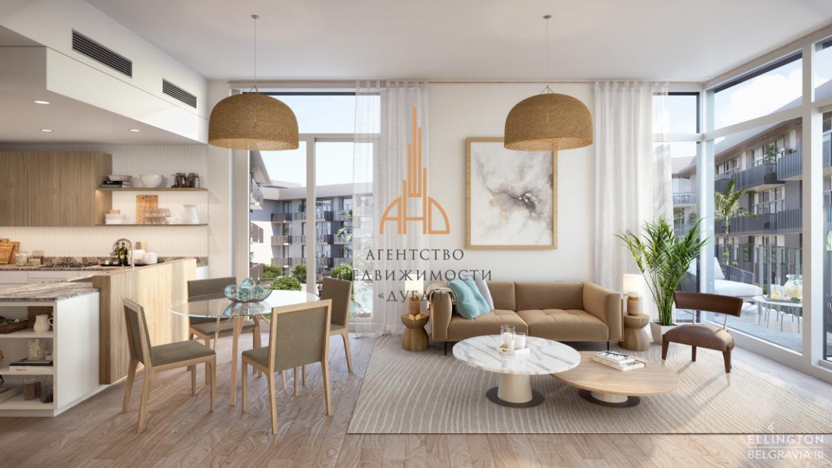 Апартаменты с 2 спальнями и гостиной в новом центре Дубая — Belgravia 3 | Дубай