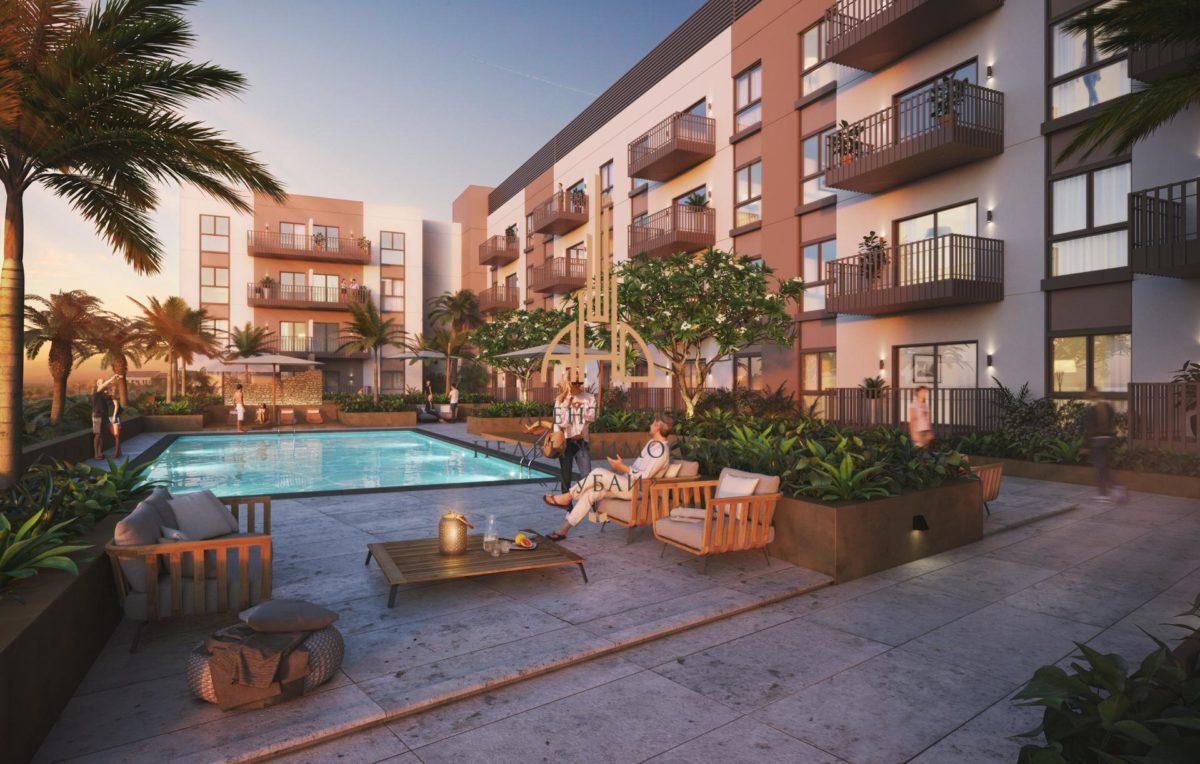 Апартаменты с 1 спальней и гостиной в новом центре Дубая — Belgravia 3 | Дубай