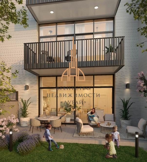 (Русский) Таунхаус с 2 спальнями в новом центре Дубая – Belgravia 3