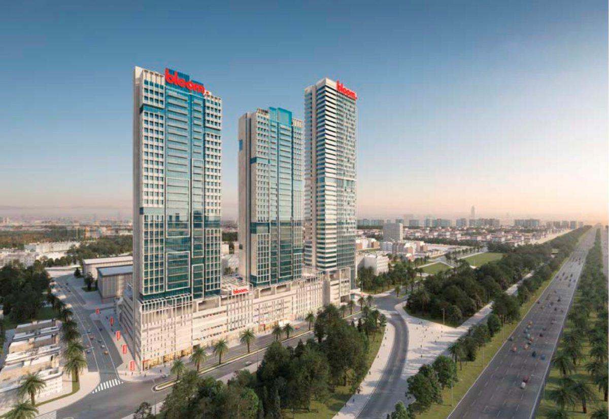 (Русский) Готовая квартира-студия в Bloom Towers   Jumeirah Village Circle