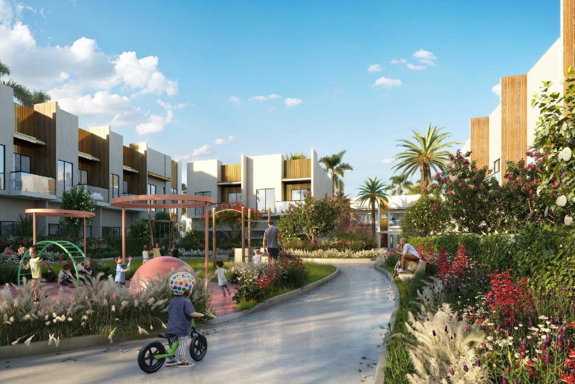 Таунхаус с 4 спальнями в MAG City с рассрочкой   Dubai