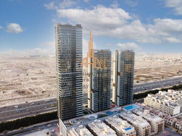 (Русский) Готовые апартаменты с 2 спальнями и гостиной с рассрочкой на 4 года | Jumeirah Village Circle