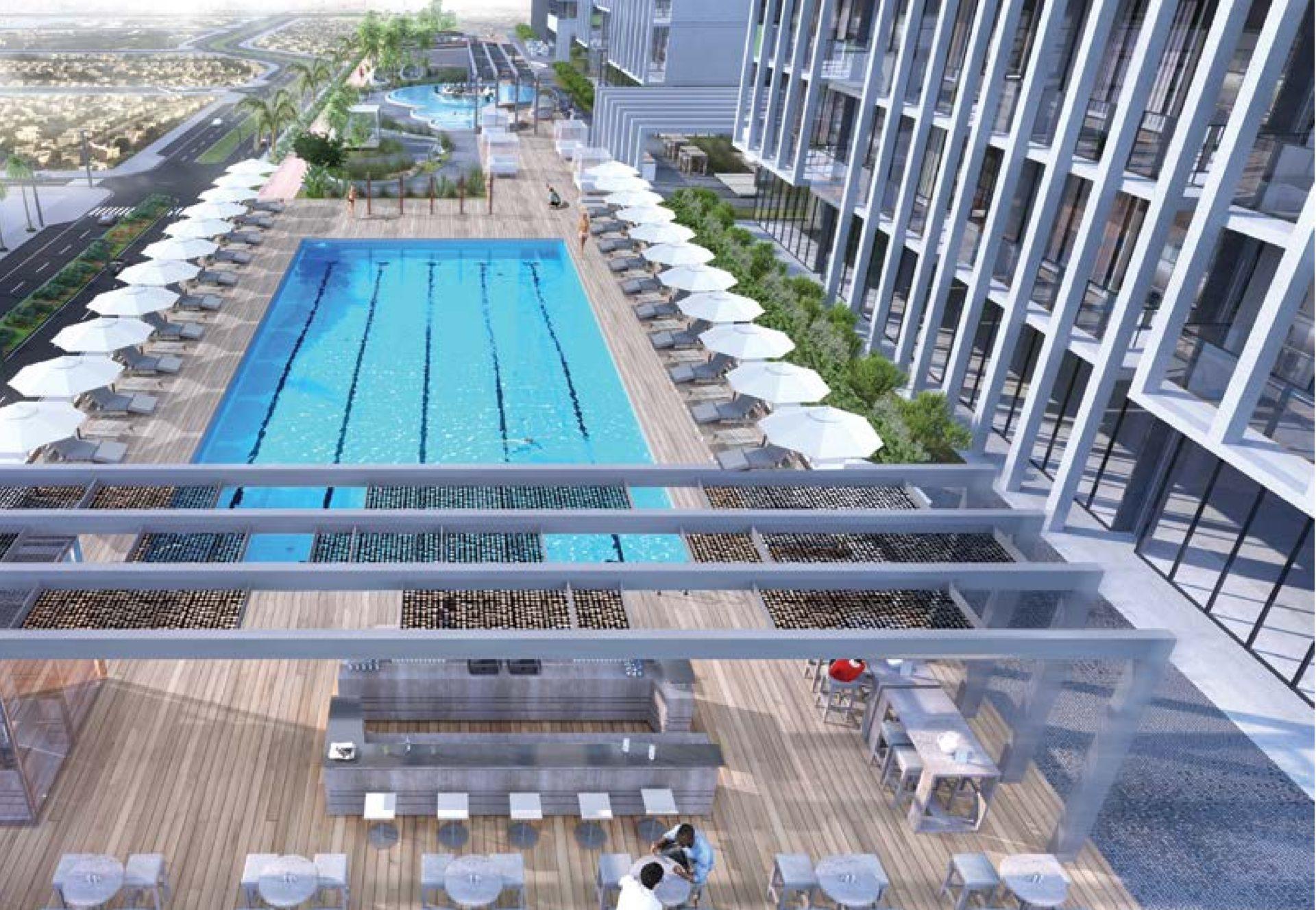 Готовые апартаменты с 3 спальнями и гостиной с рассрочкой на 4 года | Jumeirah Village Circle