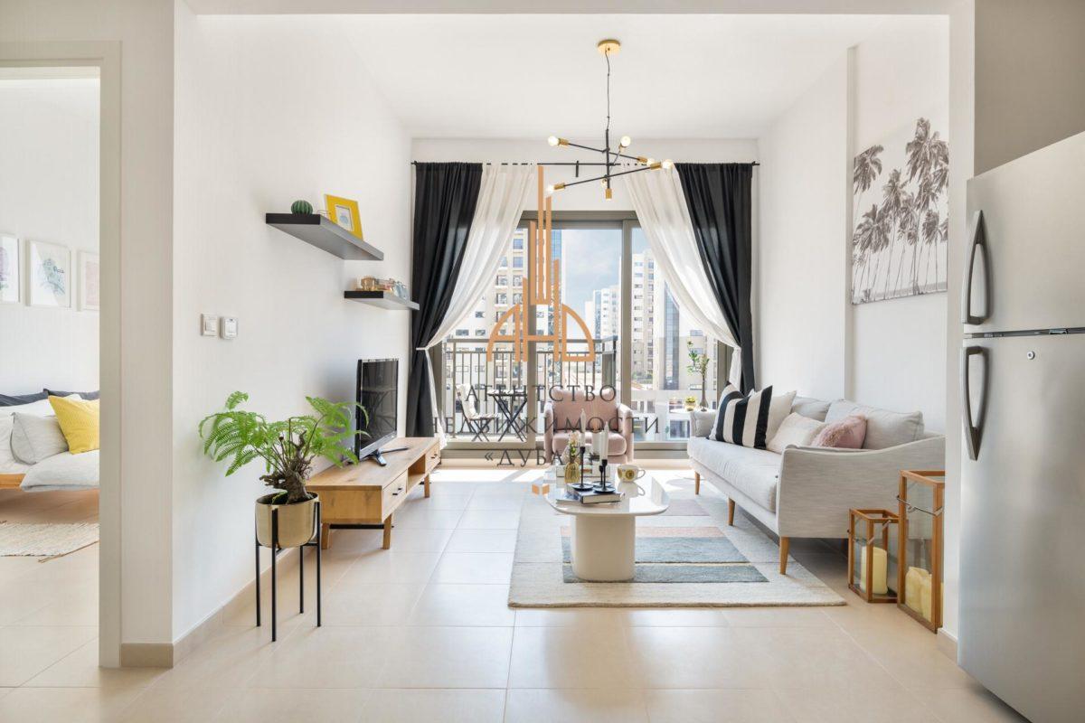Готовая квартира с 2 спальнями и гостиной в Jenna and Warda с рассрочкой на 3 года | Town Square