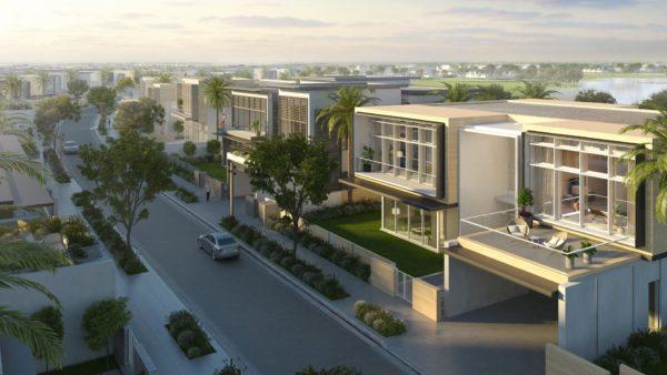 (Русский) Вилла с 4 спальнями и гостиной в Golf Place II | Dubai Hills Estate