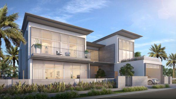 Вилла с 6 спальнями и гостиной в Golf Place II | Dubai Hills Estate