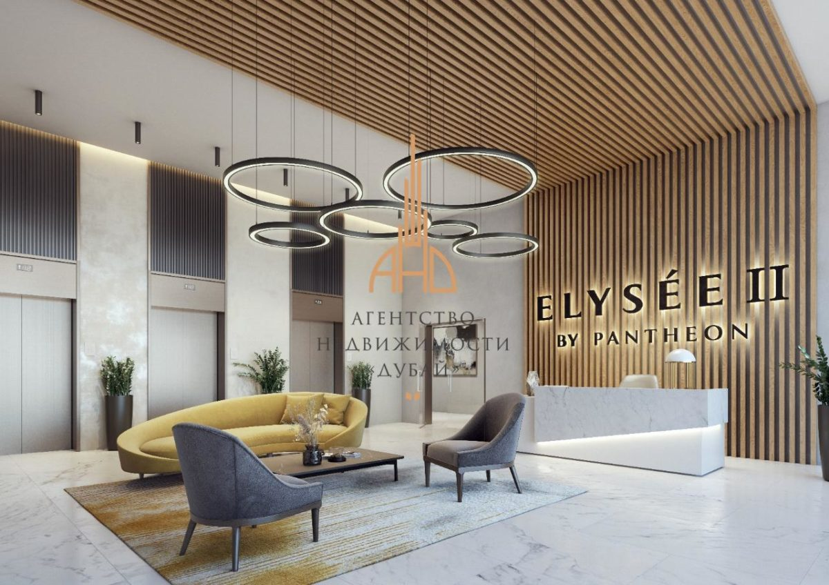 Квартира-студия в Pantheon Elysee II с рассрочкой на 5 лет | Jumeirah Village Circle