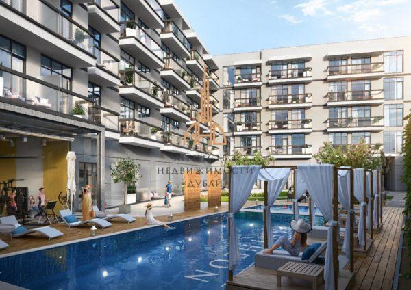 Квартира с 1 спальней и 1 гостиной в Pantheon Elysee II с рассрочкой на 5 лет | Jumeirah Village Circle