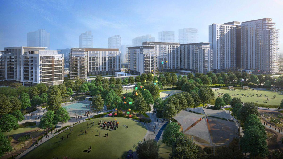 (Русский) Апартаменты с 3 спальнями и гостиной в Park Ridge | Dubai Hills Estate