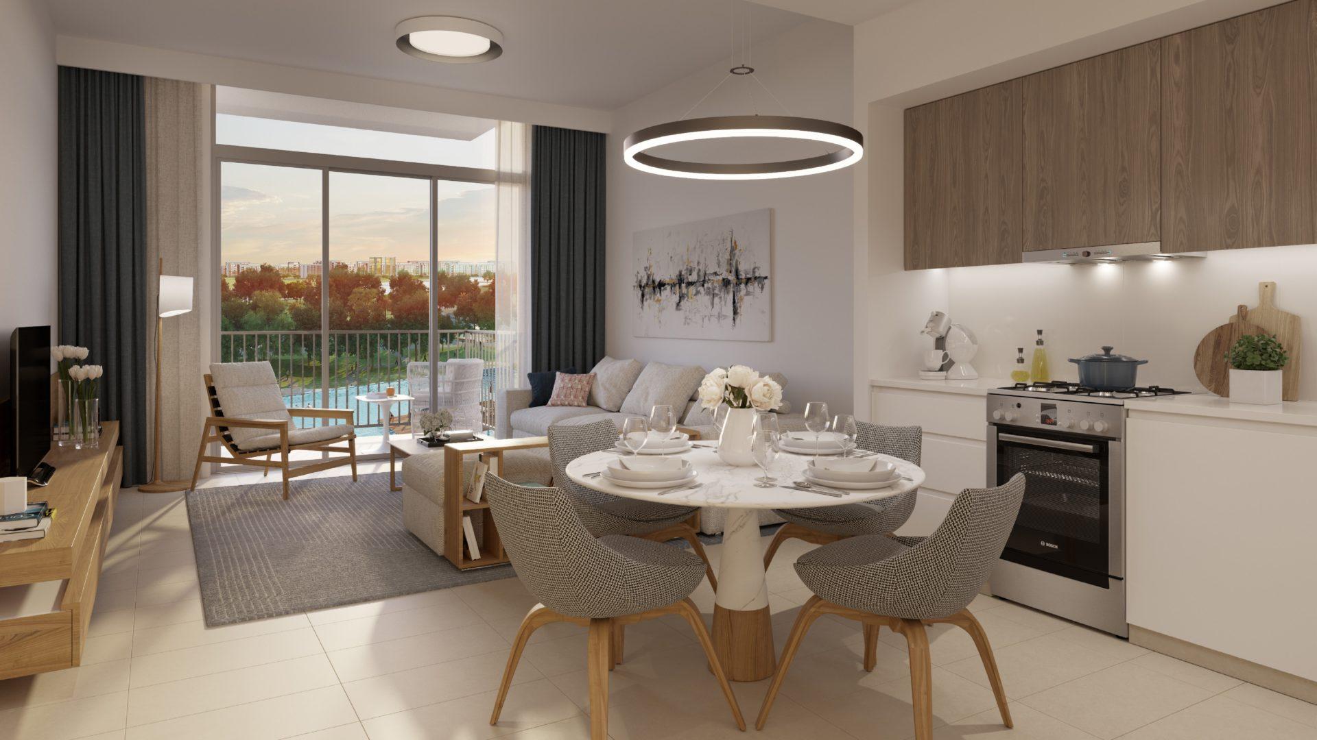 Апартаменты с 3 спальнями и гостиной в Park Ridge | Dubai Hills Estate