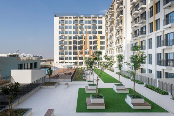 Готовая квартира с 1 спальней и гостиной в UNA с рассрочкой на 3 года | Town Square