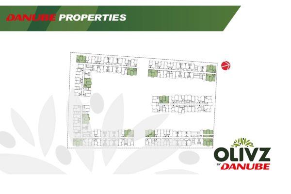 Апартаменты с 2 спальнями и гостиной OLIVZ by Danube с рассрочкой на 5 лет (Дубай)