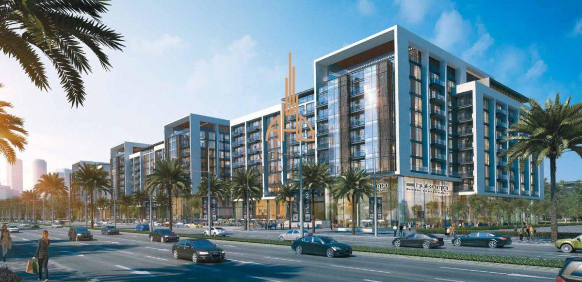 Апартаменты с гостиной и 1 спальней в  ACACIA (Dubai Hills estate EMAAR)  Дубай