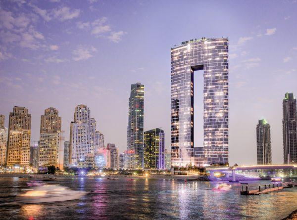 Апартаменты с 1 спальней и гостиной в Address Beach Residences | Первая береговая линия