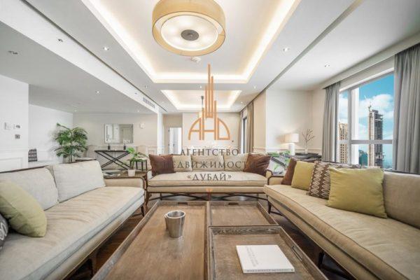 Апартаменты с 4 спальнями и с гостиной в MURJAN (Jumeirah Beach Residence)(вторичное жилье)| Дубай