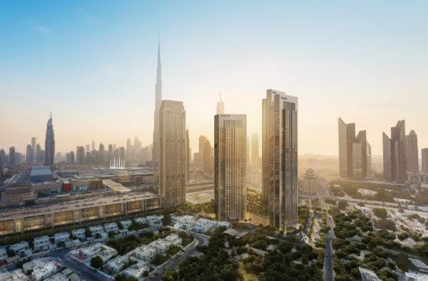 Апартаменты с гостиной и 2 спальнями в DOWNTOWN Views 2 (EMAAR)| Дубай