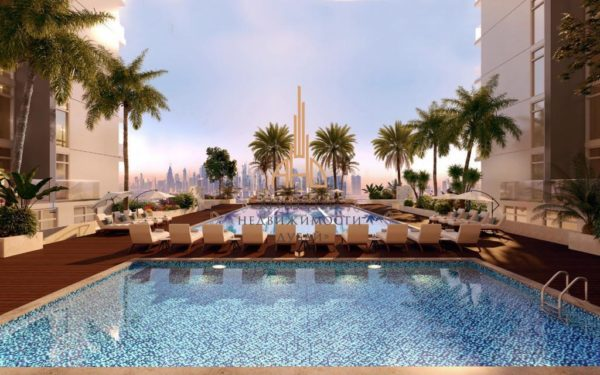 Апартаменты с гостиной и 1 спальней в Creek Vistas Reservé | Дубай