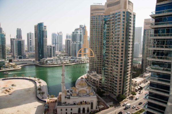 Апартаменты с гостиной и 2 спальнями в Skyview Tower (Dubai Marina)(вторичное жилье)   Дубай