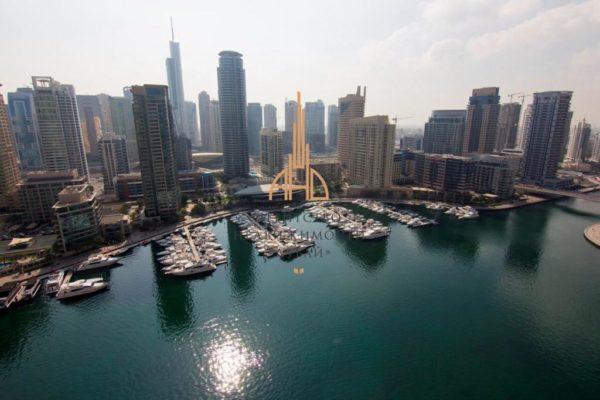 Апартаменты с гостиной и 2 спальнями в Paloma Tower (Dubai Marina)(вторичное жилье) | Дубай