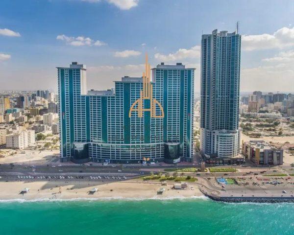 Квартира с 1 спальней и гостиной  Corniche Residences | Ajman