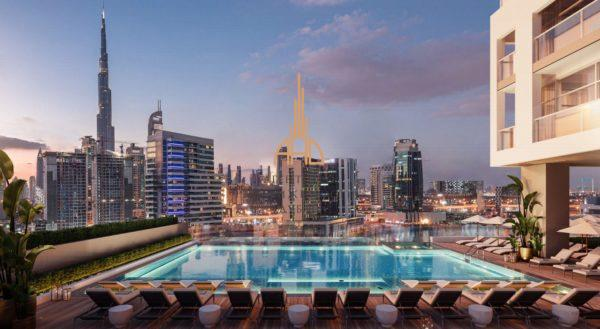 Квартира-студия в 15NorthSide в центре Дубая | Business Bay