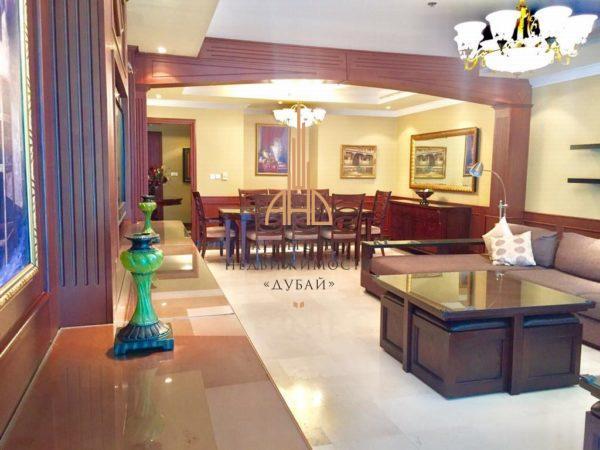Апартаменты с гостиной и 3 спальнями в Al Seef Tower (Dubai Marina)(вторичное жилье) | Дубай