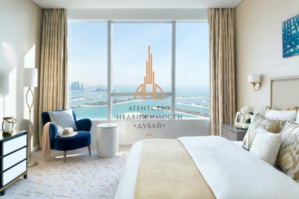 Меблированная апартаменты с 1 спальней и гостиной в THE PALM TOWER | Palm Jumeirah
