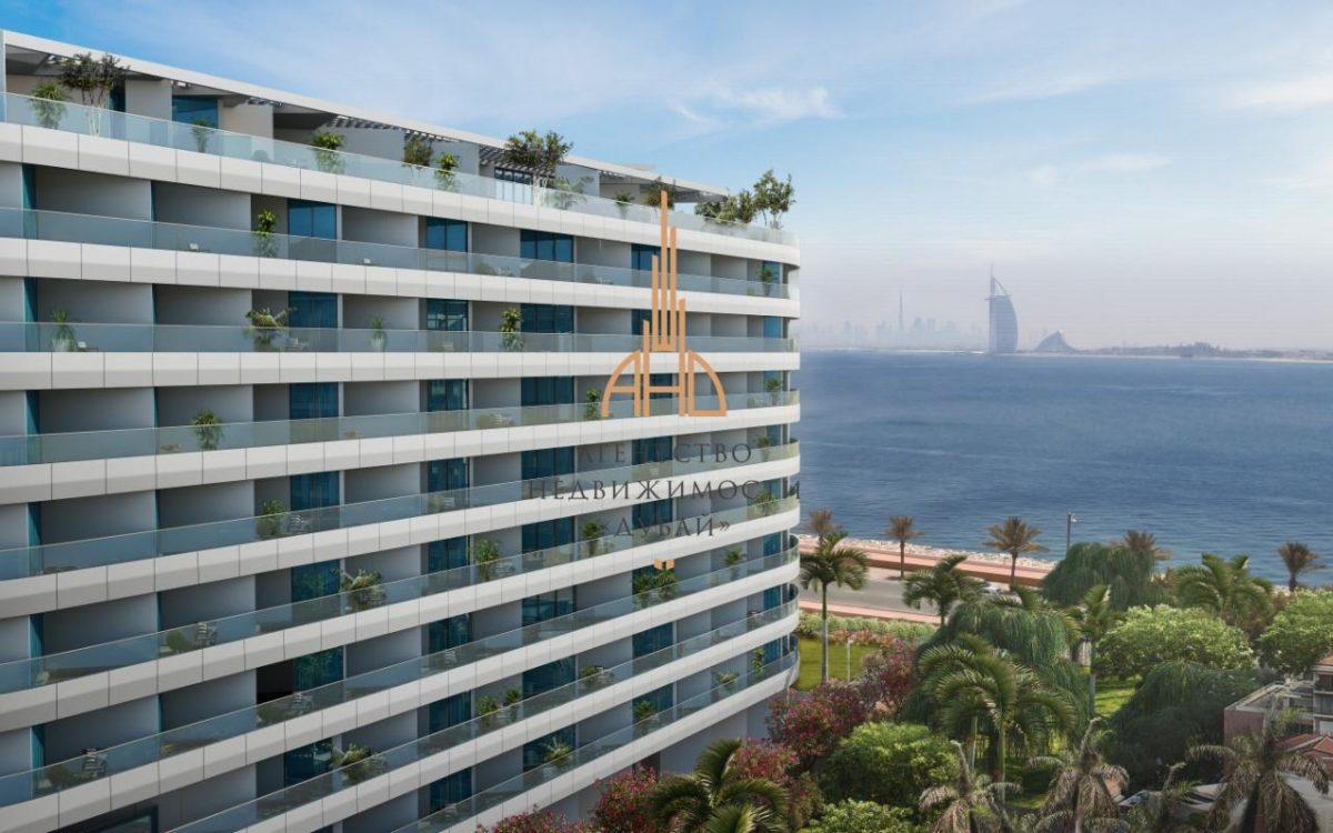 Апартаменты с 2 спальнями и гостиной в MINA AZIZI | The Palm Jumeirah