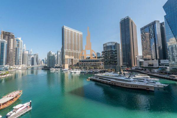 (Русский) Аренда 3-х комнатной квартиры в | Marina Quays | Дубай, ОАЭ