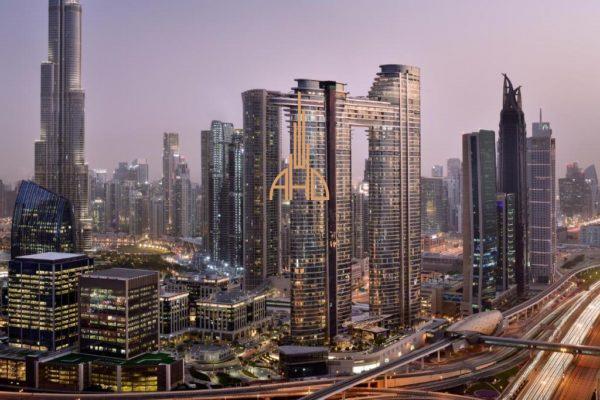 (Русский) Аренда 3-х комнатной квартиры | Address Residence Sky Views | ОАЭ, Дубай.