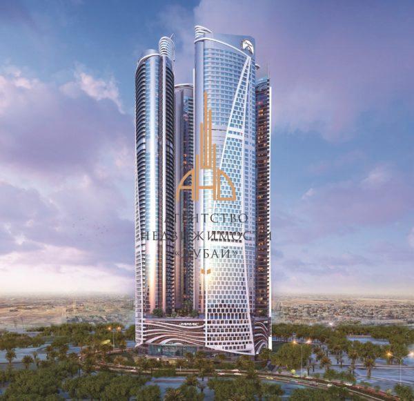 2x комнатная квартира  Damac Towers by Paramount Hotels & Resorts ОАЭ, Дубай.