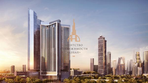 2х комнатная квартира  AYKON Heights by DAMAC   ОАЭ,Дубай.