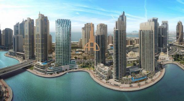 (Русский) Аренда 3 комнатной квартиры |LIV Residence| Дубай, ОАЭ.