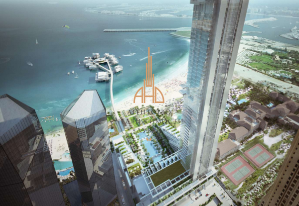 "(Русский) Апартаменты ""люкс-студия"" на берегу моря   Five JBR   ОАЭ, Дубай."