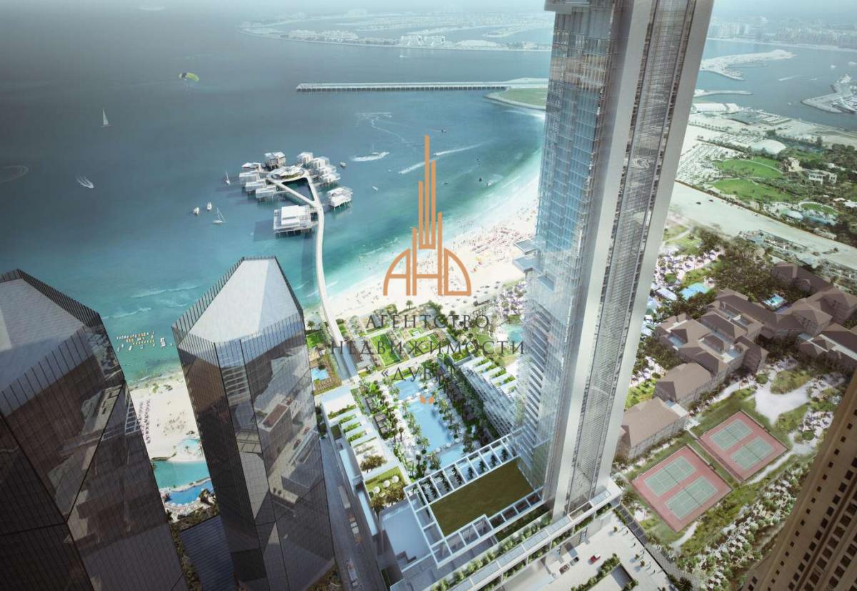 Апартаменты «люкс-студия» на берегу моря | Five JBR | ОАЭ, Дубай.
